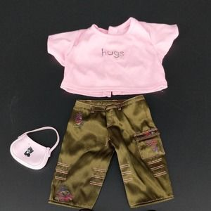 American Girl Marisol Meet 3 Piece Doll Outfit GUC